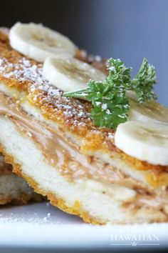 Cereal, peanut butter and banana is the crunchy and divine French toast combination we love.