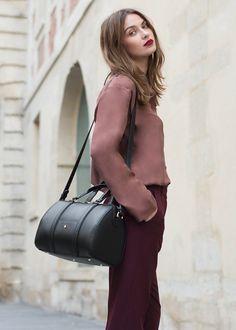 Polène   Bag N°3 Mini - Monochrome Black