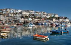 https://flic.kr/p/KY6rPB | Early Morning reflections at Brixham Harbour