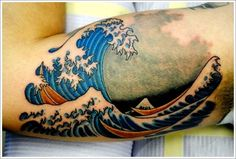 Japanese Sleeve Water Tattoo Designs
