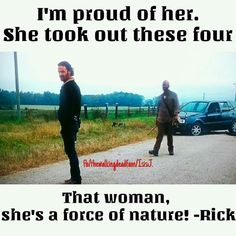 It was the best thing ever when Rick said this about Carol