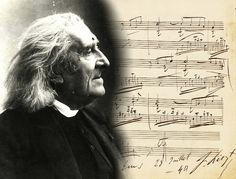 """""""Music and rhythm find their way into the secret places of the soul"""" – Plato....(the portrait is Franz Liszt)"""