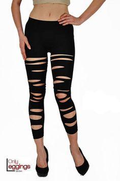 Seamless Front Slashed Leggings