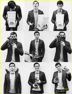 Logan Lerman Covers 'Visual Tales' Magazine | logan lerman visual tales 02 - Photo Gallery | Just Jared Jr.