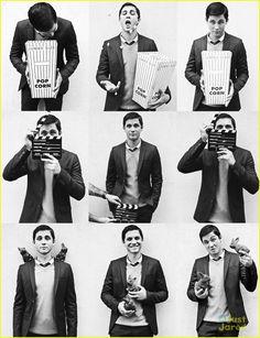 Logan Lerman Covers 'Visual Tales' Magazine   logan lerman visual tales 02 - Photo Gallery   Just Jared Jr.