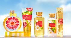 Bath & Body Works new scent for spring 2015: Love & Sunshine