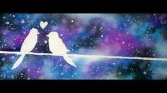 como pintar enamorados en paris - YouTube