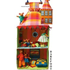 So excited look what I have back in store #BAREFOOT #Mouse #House by #Barbara #Sansoni