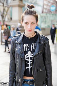 Sara Cummins in Biker Jacket #vanitytours
