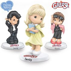 Precious Moments Grease Figurine Collection
