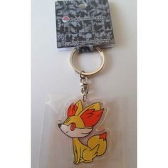 Pokemon Center 2013 Fennekin Character Keychain