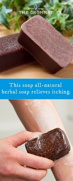 Marie's Original Formulas: All-Natural Herbal Itch Relief Soap - Beauty & Personal Care Diy Shampoo, Types Of Skin Rashes, Doterra, Natural Antihistamine, Anti Itch Cream, Itch Relief, Homemade Soap Recipes, Lotion Bars, Homemade Skin Care