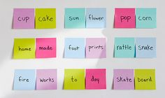 Post-it® Brand Teacher Activity Center - Compound Word Hunt