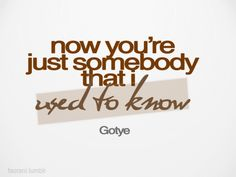 *The sad realisation that I really don't know anything about you anymore... Kinda makes me feel a little blah :(