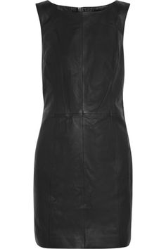 Karl Lagerfeld Leather Dress