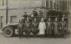 """Rural community fire apparatus purchased through the Progressive Farmers Club, and manned by the Village Fire Department"""