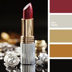 Color Palette  3115. Maroon Color PaletteGold ... 5ab4e5e2e