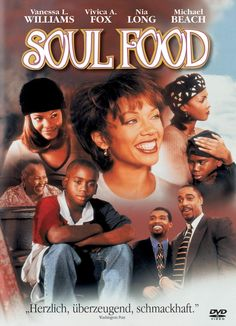 SOUL FOOD centers on the trials of an extended African-American family, held together by longstanding family traditions which begin to fade as serious problems take center stage. / dir. by George Tillman Jr., 1997.