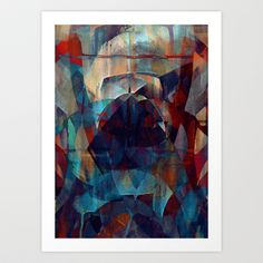 I face every hurdle, with a nervous state of mind Art Print by joseph arruda (zeruch) - $14.00