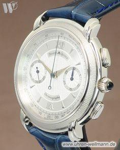 Maurice Lacroix Les Mecaniques Masterpiece Venus 188 Chronograph 99.545-7501-(4295)- bei Uhren - Wellmann