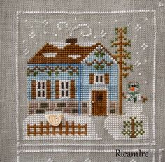 RicamIre: Frosty Forest: Snowgirl's Cottage