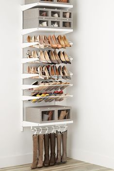 Shoe storage design - Clever Ways To Store Your Shoes If You Don't Have a WalkIn Closet – Shoe storage design