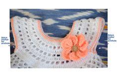Delilah crochet baby dress – Sunshine, Yarn and Art Farm Crochet Baby Dress Free Pattern, Crochet Dress Girl, Toddler Dress Patterns, Baby Girl Crochet, Crochet Baby Clothes, Baby Blanket Crochet, Crochet Patterns, Free Crochet, Crochet Socks