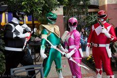 "Mighty Morphin' Power Rangers photo by David ""DTJAAAAM"" Ngo."