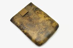 Hand Crafted Tablet Case From Snake Skin by MyTabletCasePlace