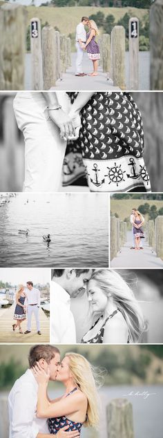 nautical engagement session | k.holly