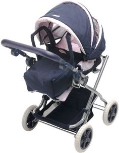 Corolle - Navy blue and pink doll carriage (Barcode EAN = 3144942586196). http://www.comparestoreprices.co.uk/dolls/corolle--navy-blue-and-pink-doll-carriage.asp