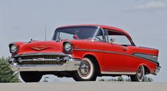 57 Chevy Bel Air, Chevrolet Bel Air, My Dream Car, Dream Cars, Good Old Times, Fuel Injection, American Muscle Cars, Cool Cars, Mustang