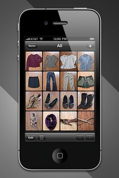 A free iPhone app that organizes your whole closet and helps you choose what to wear!