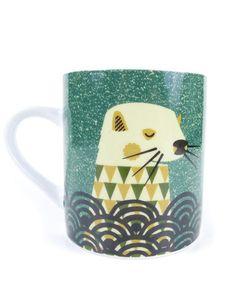 Tom Frost Wildlife Mug- Otter