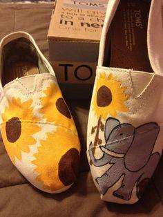 Custom Toms Shoes, I want!