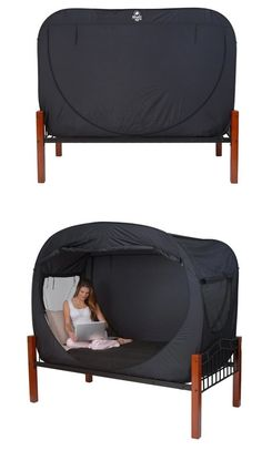 I may consider tent camping if we had one of these. Lol