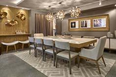 Sala de jantar – Conceito Accipere  Caroline Gaspar e Cauã Witzke