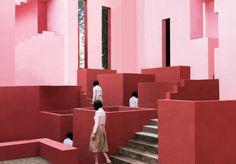 Photo Series   June Kim And Michelle Cho Illusory Architectural...