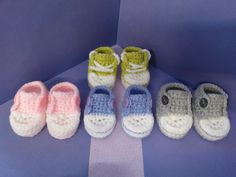 How to crochet my easy petite converse style slipper part 4 including history of the converse