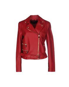 VERSACE Biker Jacket. #versace #cloth #dress #top #skirt #pant #coat #jacket #jecket #beachwear #