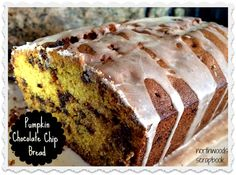 """I added """"Northwoods Scrapbook: Pumpkin Chocolate Chip Bread"""" to an #inlinkz linkup!http://northwoodsscrapbook.blogspot.com/2015/10/pumpkin-chocolate-chip-bread-with.html"""