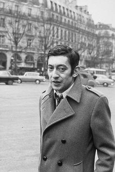 Serge Gainsbourg Serge Gainsbourg, Jane Birkin, French Fashion, Simple Living, Hollywood, Celebs, Profile, 1960s, Women