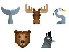 Animals by Mikey Burton