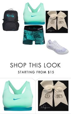 """""""cheer"""" by rstacey on Polyvore featuring NIKE, women's clothing, women, female, woman, misses and juniors"""