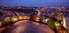 Rooftop Gardens: Ancient Idea - Modern Benefits - Modern Urban Roof - Patio