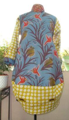 Manteau Miss Poppins - a Scarlett et Marguerite pattern
