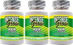 Long Hair Growth Vitamins - Intense Grow 3-Pack $24.95