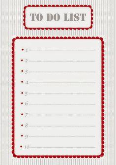Des listes pour s'organiser - Petits canaillous