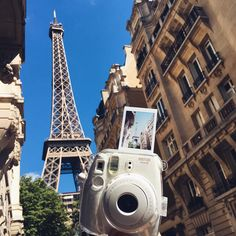 Travelling with your instax camera is so rewarding! - Instax Camera - ideas of Instax Camera. Trending Instax Camera for sales. - Travelling with your instax camera is so rewarding! Polaroid Camera Pictures, Poloroid Camera, Polaroid Instax, Instax Mini Camera, Fujifilm Instax, Camera Lens, Camera Aesthetic, Paris Summer, France