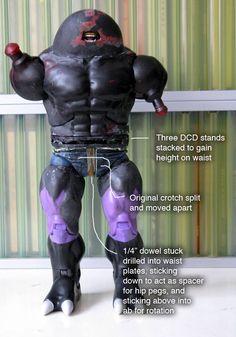 Fear Itself Juggernaut custom action figure by GrownNerd Base figure: Validus…